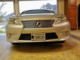 oem tires lexus es 350 2014 es350 front license plate mount bracket clublexus lexus