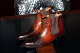 handmade womens boots uk o9gcivfyd handmade mens shaded brown chelsea leather