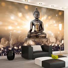 photo wallpaper wall murals non woven 3d modern art buddha
