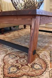 angled leg coffee table free diy plans rogues engineers and legs
