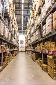 Ikea Malaysia Kuala Lumpur Malaysia January 25 2015 Warehouse Storage