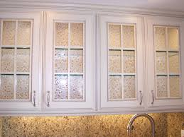 Kitchen Cabinet Inserts Cabinet Doors With Glass Textured Art Glass Inserts And Glass