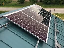 diy solar diy solar garage 14 steps with pictures
