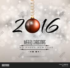 2016 new year happy christmas vector u0026 photo bigstock