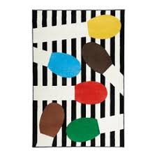 Ikea Button Rug Tåstrup Rug Low Pile Multicolor Sewing Rooms Playrooms And Room