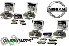 nissan altima 2005 rear brakes 2005 2006 nissan altima two front u0026 rear rotors w front u0026 rear
