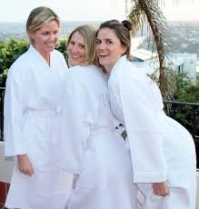 waffle robes for bridesmaids set of 4 waffle bathrobes lilac aqua silver embroidery
