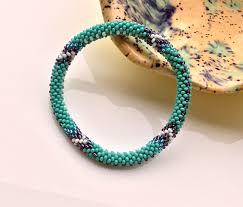 glass beads bracelet images Lifted hope nepal glass bead roll on bracelet handmade by ramila jpg