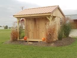garden sheds portable barns construction in millersburg ohio