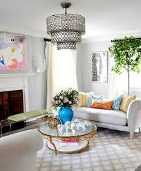 Spring Kitchen Decorating Ideas With Diy Hanging Lamp And Round