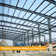 china layer egg chicken cage poultry house design prefab steel