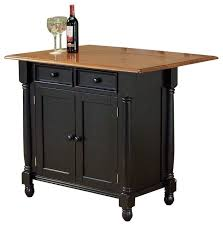 drop leaf kitchen islands sunset trading drop leaf island antique blackcherry modern kitchen
