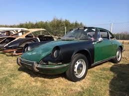 porsche 911 irish green porsche 911t 1971 coupe 2 2l lhd irish green after restoration