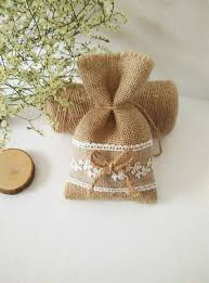small burlap bags free shipping 50pcs lot size 10x16 5cm rustic small candy jute
