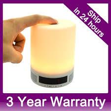 Living Room Bluetooth Speakers Aliexpress Com Buy Led Lamp Smart Bluetooth Speaker Led Alarm