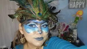 peacock headband diy peacock headband