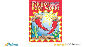 amazon com red root words book 1 mastering vocabulary with