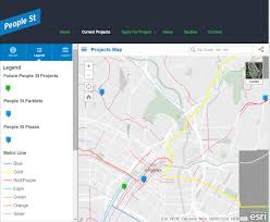 Street Map Of Los Angeles by Los Angeles Department Of Transportation Empowers Smart