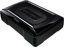 amazon com subwoofers electronics amazon com kenwood ksc sw11 compact powered enclosed subwoofer