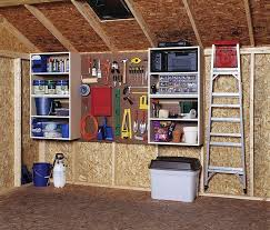 how to hang tools in shed shed organization for storage keep things off the ground hang