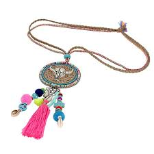 image handmade necklace images Handmade necklace bohemia tassel urbandippity jpg