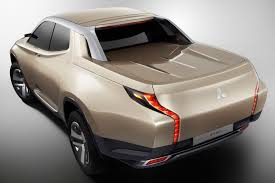 hybrid pickup truck mitsubishi gr hev concept is one funky hybrid truck autotribute