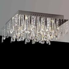 Flush Mount Chandeliers Close To Ceiling Light Jojospring Claudia Light Glass Drop Flush