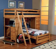 bedroom bunk beds for small rooms white wooden three level bunk