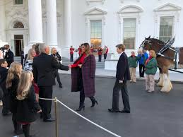 first lady and son receive 2017 white house christmas tree breitbart
