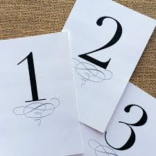 free table number templates printable classic table numbers 1 12