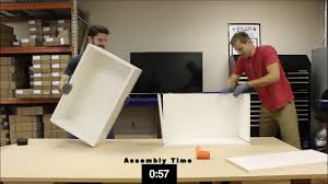 Kitchen Cabinet Fasteners Assemble An Upper Cabinet In 1 Minute Lockdowel H Clip Fastener