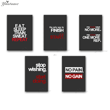 online buy wholesale gym motivational posters from china gym