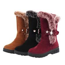 womens winter boots women winter boots ankle boots artificial rubbit fur snow