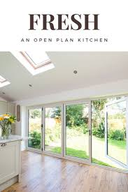 92 best improve don t move images on pinterest natural light how refreshing does this kitchen extension look natural light floods through bifold doors and an