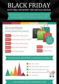 black friday advertising ideas email marketing infographics campaigner