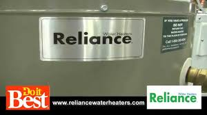 reliance water heaters youtube