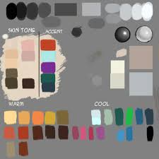 how to use color palette in photoshop drawing and digital