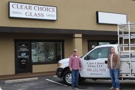 clear choice glass denver nc shower enclosures storefronts mirrors