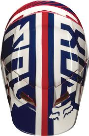 motocross helmets uk 2017 fox v1 falcon motocross helmet red white 1stmx co uk