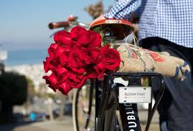 same day flower delivery pedal powered petals same day flower delivery in sf gardenista
