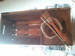 crate coffee tables diy vintage chic vintage wine crate coffee table