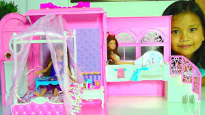 samantha glamour handbag bed suite playset barbie dolls