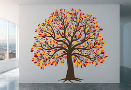 wall decor home decor home living beautiful tree decal giant tree decal family tree full wall mural nursery