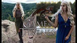 halloween get the look daenerys targaryen game of thrones youtube