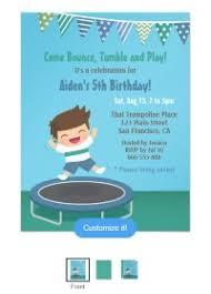 Backyard Birthday Party Invitations Trampoline Birthday Party Planning Backyard Dreams