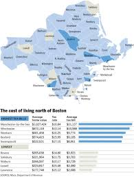 Boston Crime Map by Property Tax Bills Add To Cost Of Living In The Suburbs The