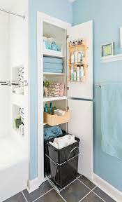 creative ideas for an organized bathroom hamper linens and
