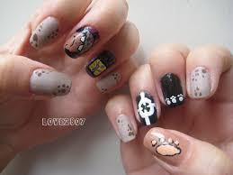 nailove2807 nail art design bartholomew kuma