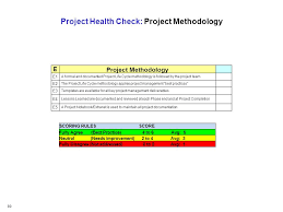 project health check workshop ppt download