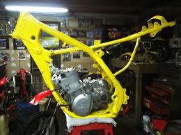 guy cooper u0027s factory 91 rm250 sx bike resto old moto